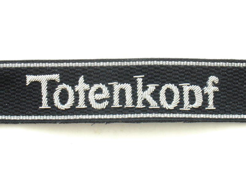WW2 German Waffen-SS Totenkopf Cuff Titles