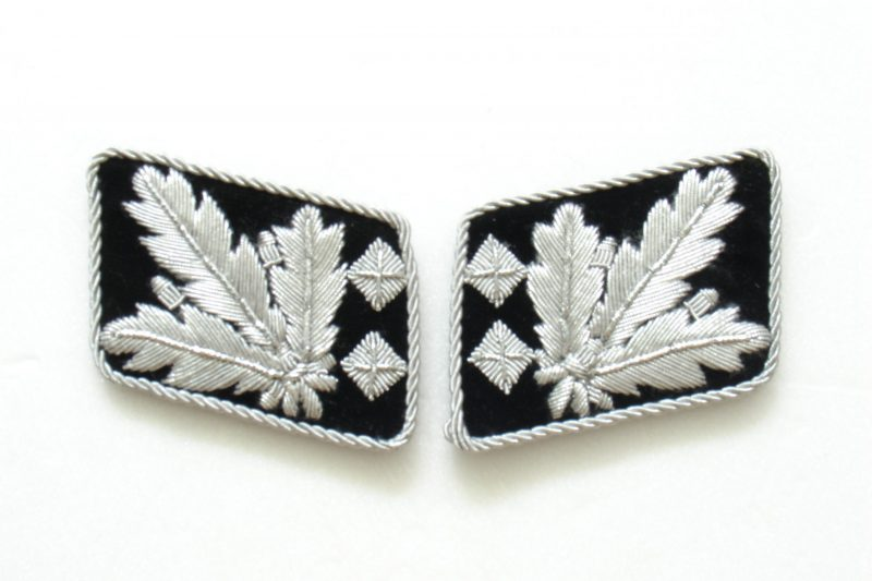 WW2 German Waffen-SS Obergruppenführer (Lt. General) Collar Tabs