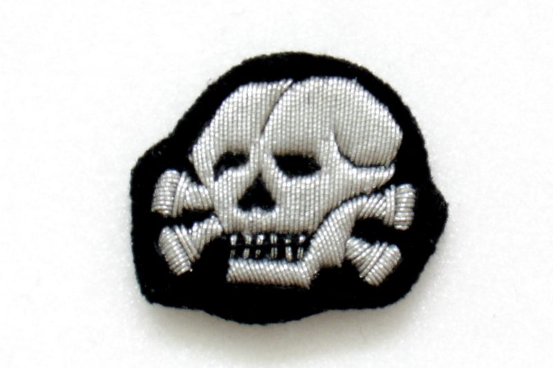 WW2 German Waffen-SS Officer Cap Badge