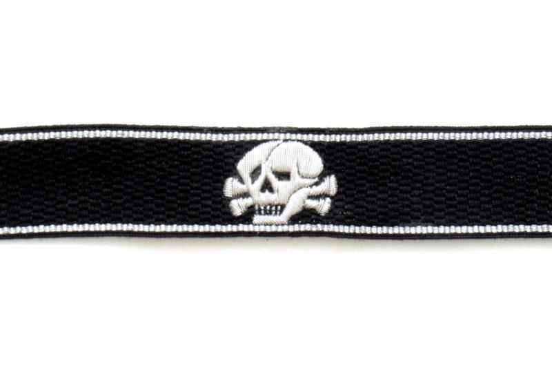 WW2 German Waffen-SS Skull Cuff Titles