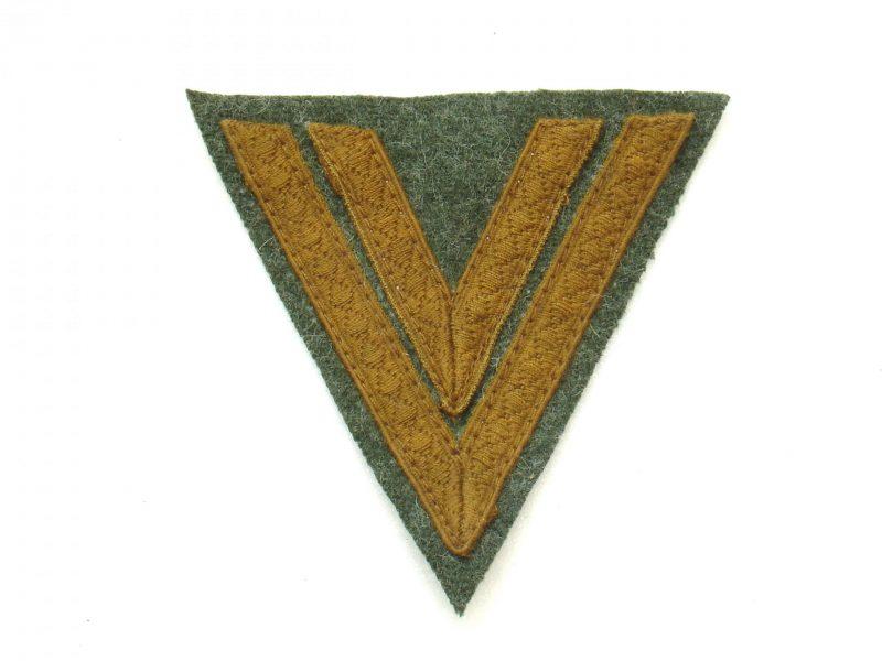 WW2 German Heer Obergefreiter Sleeve rank (Tropical)