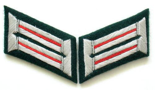 WW2 German Heer Artillerie/ Assault Gun Officer Collar Tabs