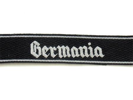 WW2 German Waffen-SS Germania Cuff Titles