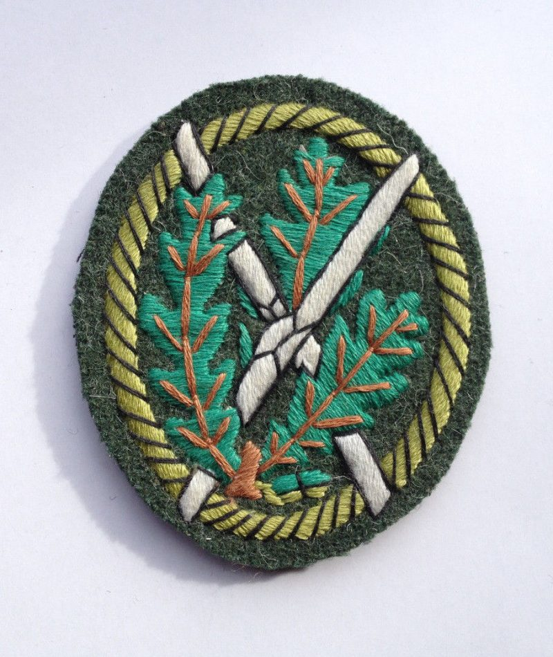 WW2 German Jager's Sleeve Patch (A)