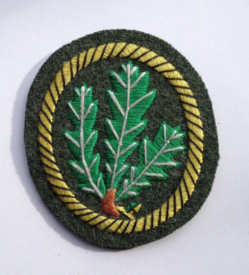 WW2 German Jager's Sleeve Patch (C)