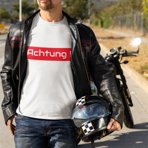Achtung !!! Unisex Heavy Cotton Tee