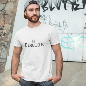 Director. Unisex Jersey Short Sleeve Tee