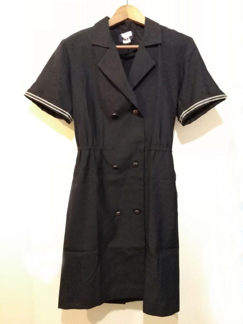 Vintage Obsolete American Airlines Flight Attendant Stewardess Dress (A)