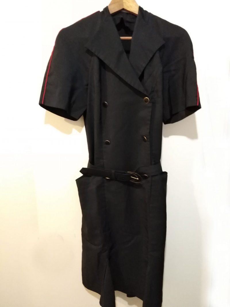 Vintage Obsolete Northwest Airlines Flight Stewardess Dress with Belt