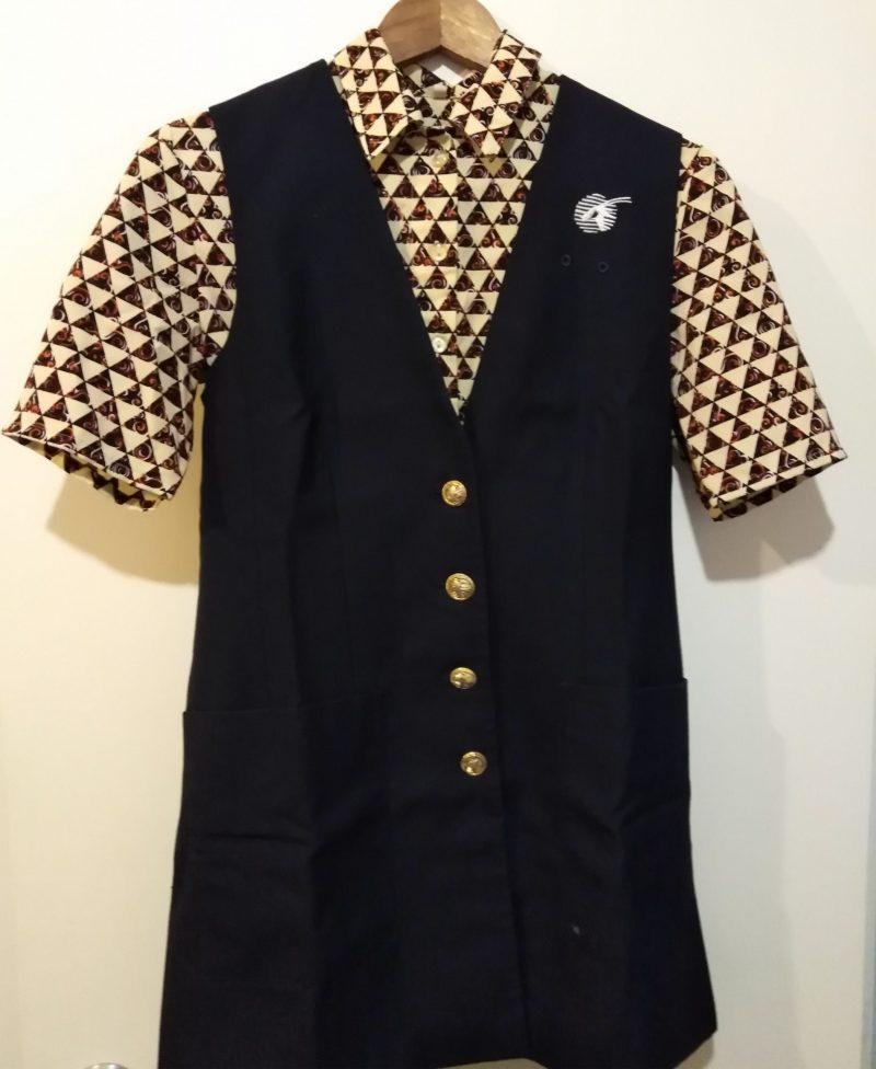 Vintage Rare Qatar Airways Flight Attendant Stewardess Uniform