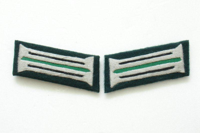 WW2 German Heer Engineers Pioneer (Sapper) EM Collar Tabs (Embroidered)