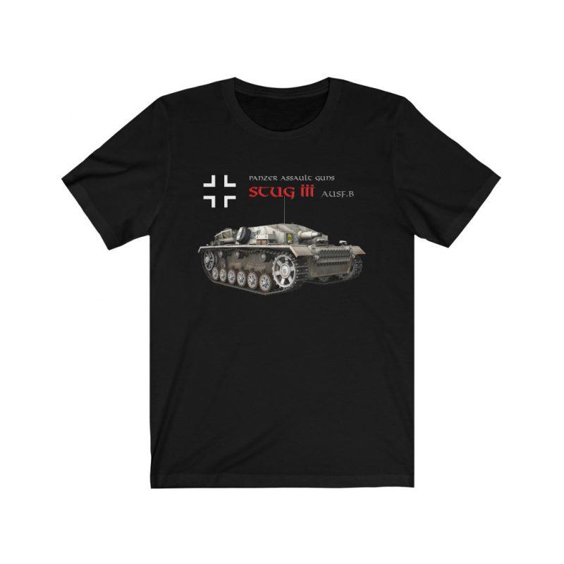 WW2 German Assault Guns StuG III Ausf.B Unisex Jersey Short Sleeve T Shirt